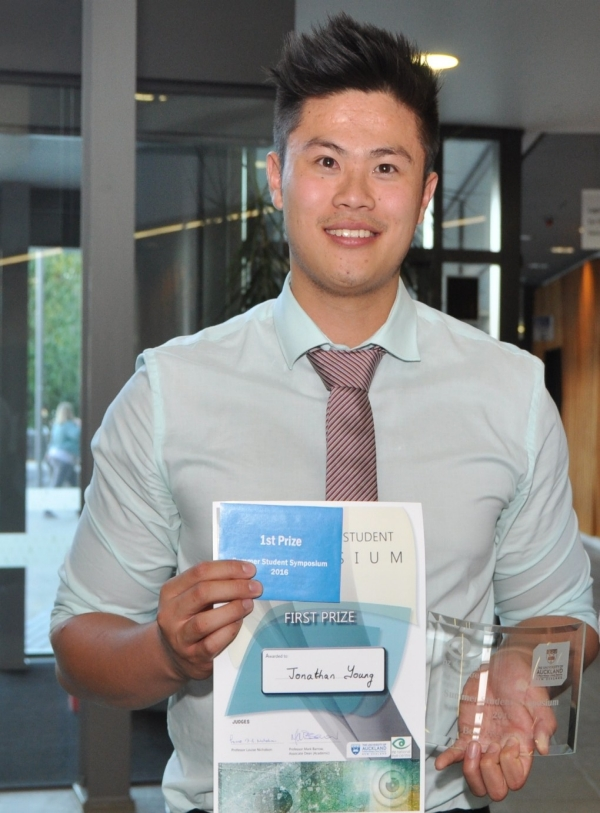 First prize winner Jonathan Young
